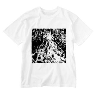 海獣 Washed T-shirts