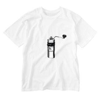コーヒーミル◉◉ Washed T-Shirt
