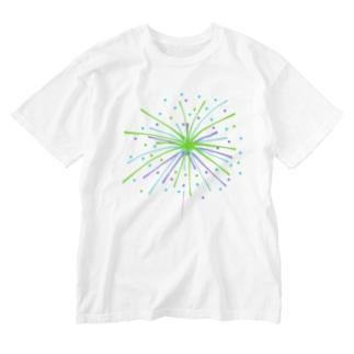 花火 Washed T-shirts
