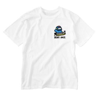 #ボートレーサーくん Washed T-shirts