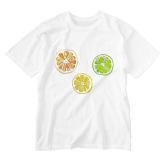 シトラスフルーツ! Washed T-shirts