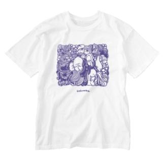 kakurenboの630_01 Washed T-shirts