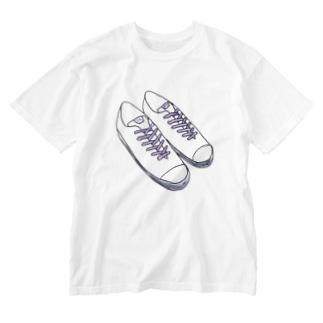 すにーかーほすぃー Washed T-shirts