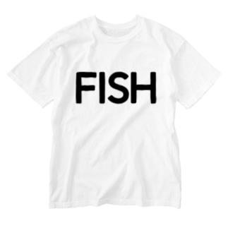 迷宮物件Tシャツ Washed T-shirts