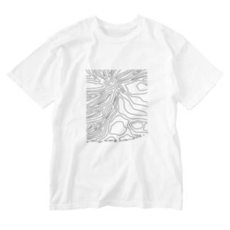 yuragi Washed T-shirts