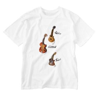 guitars Washed T-shirts