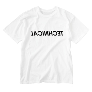 「TECHNICAL:SIMPLE」 Washed T-shirts