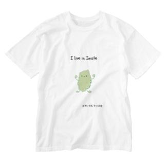 いわてっち Washed T-shirts
