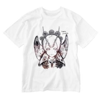 ムゲンノイノチ・カゲロウ Washed T-shirts