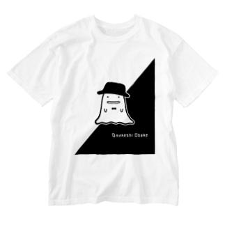 おめかしオバケくん Washed T-shirts