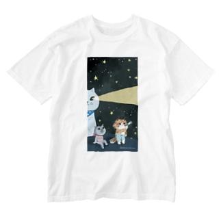 2020カレンダー8月 Washed T-shirts