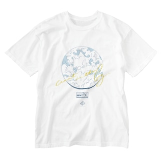 wait in the fog 夏っぽい Ver. Washed T-shirts