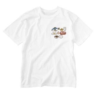 タンパク質を多く含む食品 Washed T-shirts