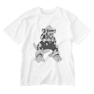 M=らくがき-かいじゅう‐DA Washed T-shirts