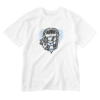 セクシーマスクGAL Washed T-shirts