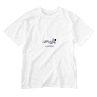 Yosumiの浮遊のんびり Washed T-Shirt