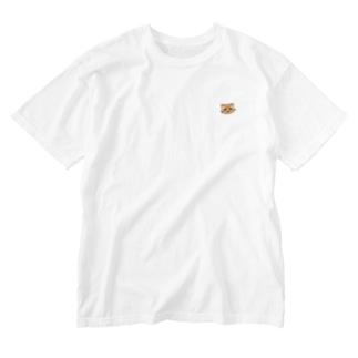 いやしいねこ科 Washed T-shirts