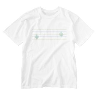 ジェラートラテアート~Landscape~ /パイナップル×ブルーハワイ Washed T-shirts