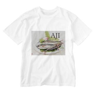 スタイリッシュ AJI Washed T-shirts