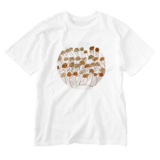 kaotandollのしめじ Washed T-shirts