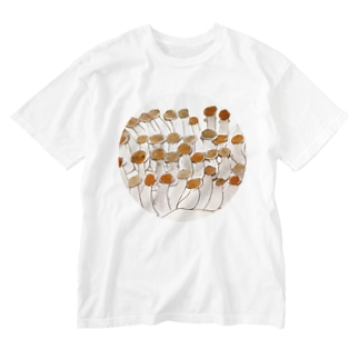 しめじ Washed T-shirts