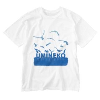 UMINEKO群 Washed T-shirts
