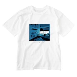 midnight coffee Washed T-shirts