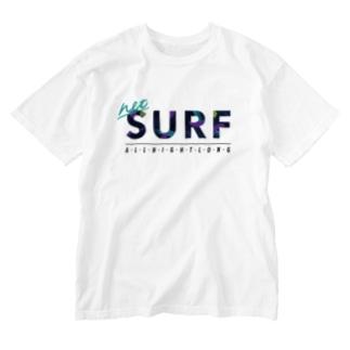 ki_moiのネットサーフ(絵の具) Washed T-shirts