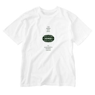 グリーン・ニューディールTシャツ Washed T-shirts