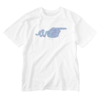 connect F Washed T-shirts
