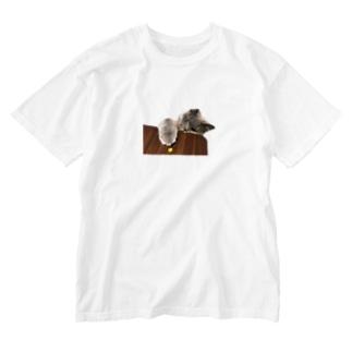ぶるしゃん-とうもろこし Washed T-shirts