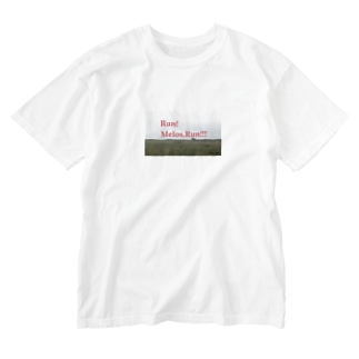 メロス2 Washed T-shirts