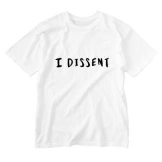 I DISSENT Washed T-shirts