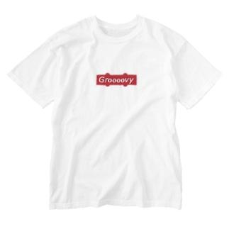 Groooovy - JB Pickup box logo Washed T-Shirt