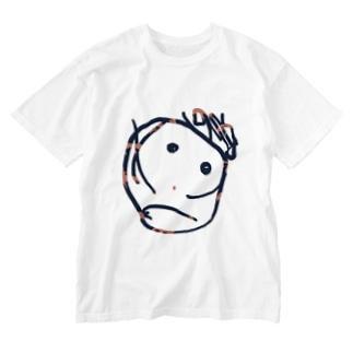 こりんカラー Washed T-shirts