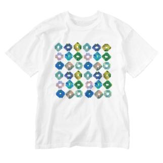 KIRIGAMI_typeA Washed T-shirts