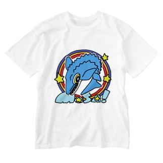 えいくらのPOP!モササウルス Washed T-shirts