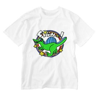 POP!スピノサウルス Washed T-shirts