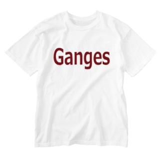 ガンジス  Washed T-shirts