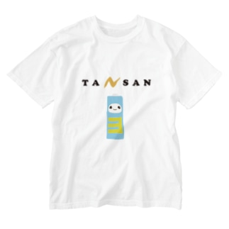 単3でんちちゃん Washed T-shirts