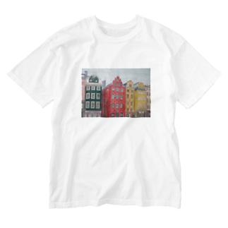 ストックホルム Washed T-shirts