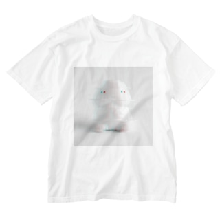 ぱいせー台湾商店のGLITCHな小丁丁 Washed T-shirts