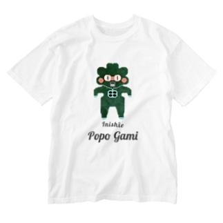 Popo Gami Inishie Washed T-shirts