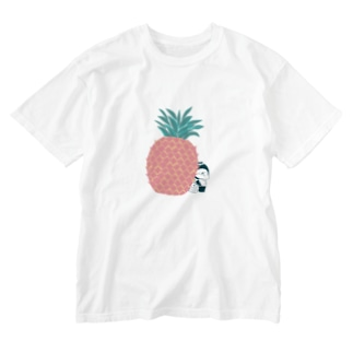 MINI BANANA パイナップル Washed T-shirts