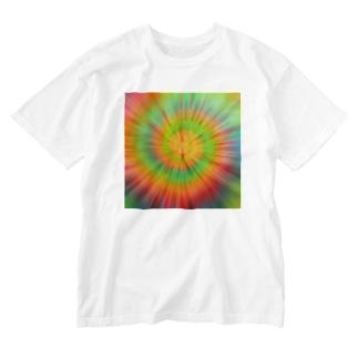 サイケデリック Washed T-shirts