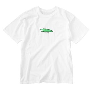 ワニノコ Washed T-shirts