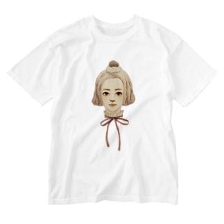 モンブランヘアスタイル Washed T-shirts