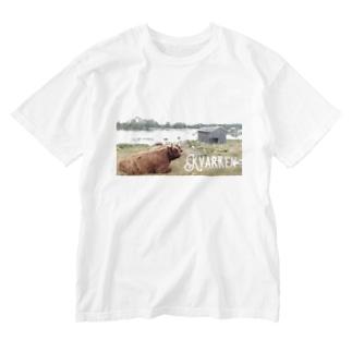 Vaasa/Vasaシリーズ 「クヴァルケン群島」 Washed T-shirts