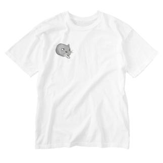 しめじちゃんおててのばし Washed T-shirts