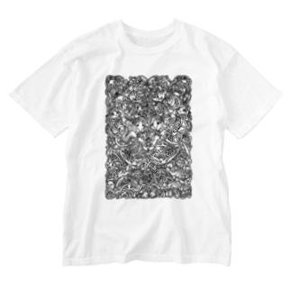 森 Washed T-shirts